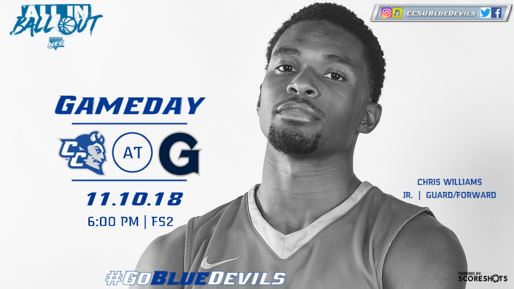 Men's Basketball Faces Georgetown for the First Time Saturday