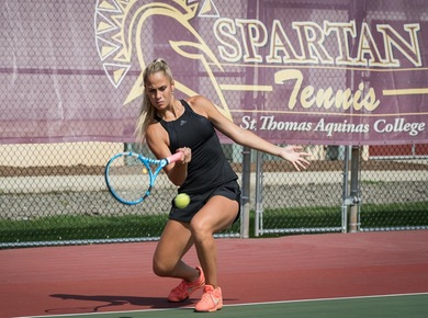 Spartan Women's Tennis Falls to Jefferson, 6-1