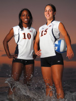 Moore and Vella Invited to USA Volleyball Tryouts