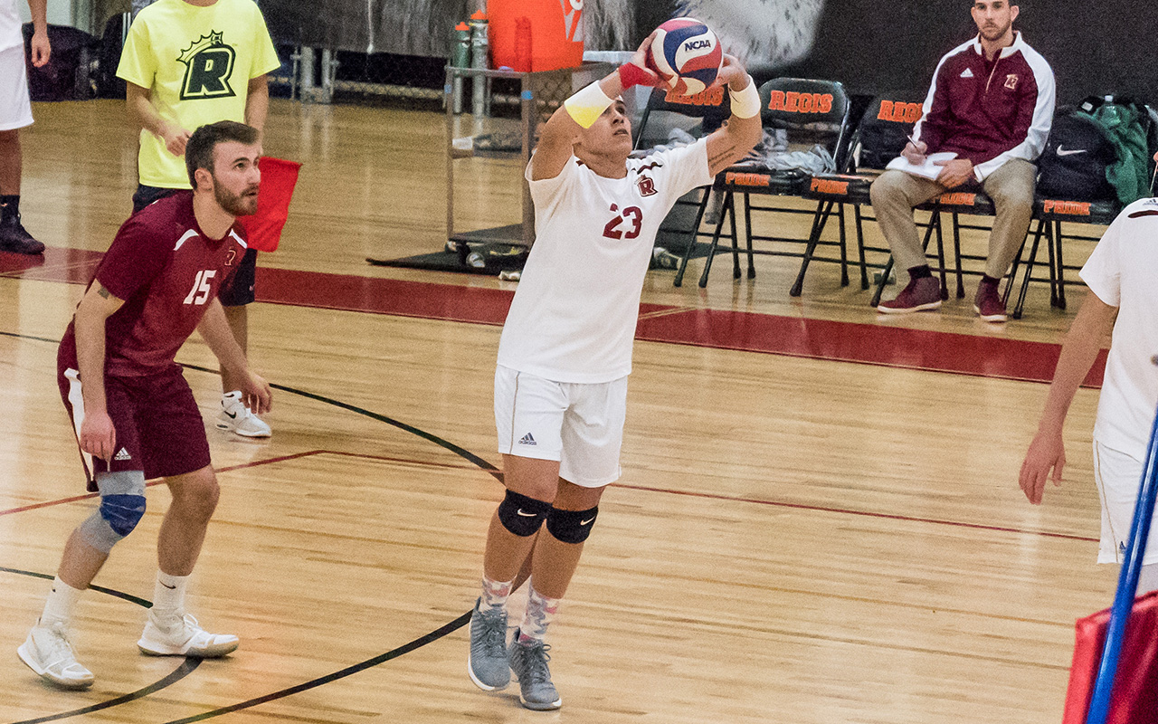 Men's Volleyball Swept by Cal Lutheran