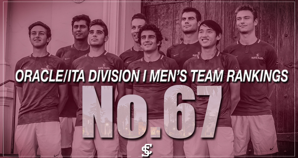 Men's Tennis Finishes No. 67 in National Rankings