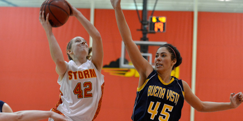 IIAC Tournament opener takes Storm women to Buena Vista for rubber match