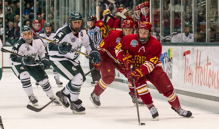 Ferris State Wins Exciting Opener Before Nationwide TV Audience