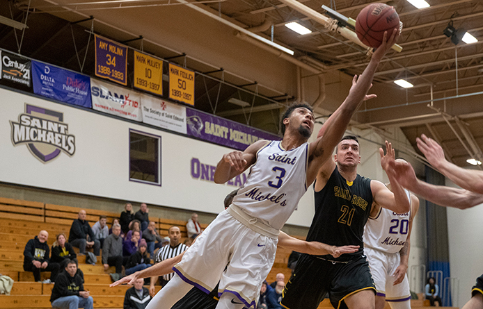 Cheatom's 35-Point Day Carries Men's Basketball Past Southern New Hampshire, 82-72
