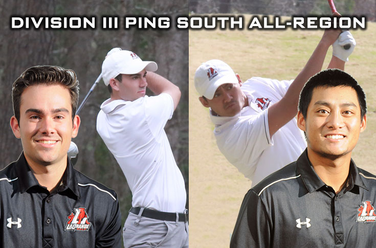 Golf: Lanier, Theam named to Division III PING South All-Region team