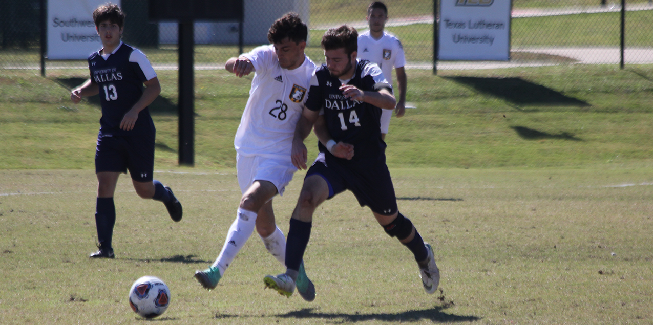 Texas Lutheran Storms to SCAC Semifinals with 5-1 Victory