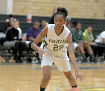 Sophomore forward Sierra McDuffie scored a season-high 11 points in a Jan. 14, 2014, home victory over Nyack.