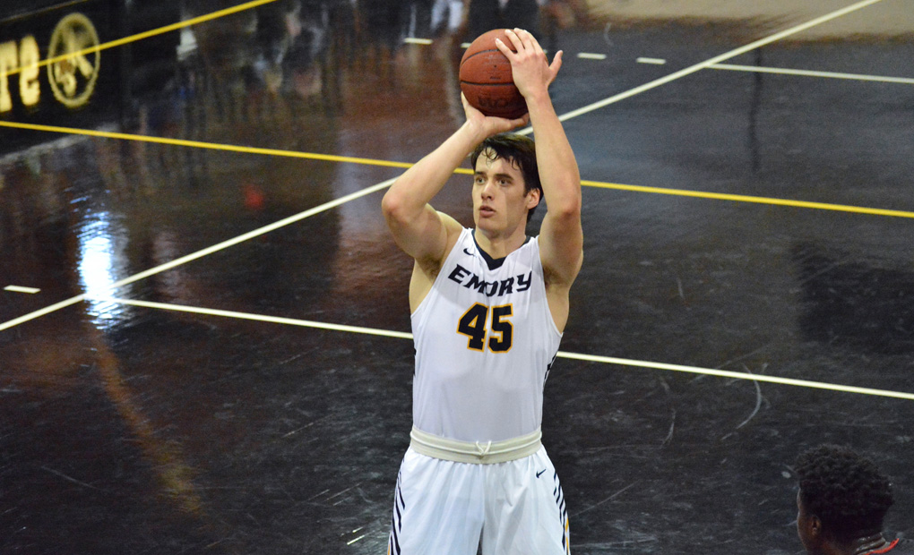 No. 13 Emory Men's Basketball Holds Off Carnegie Mellon