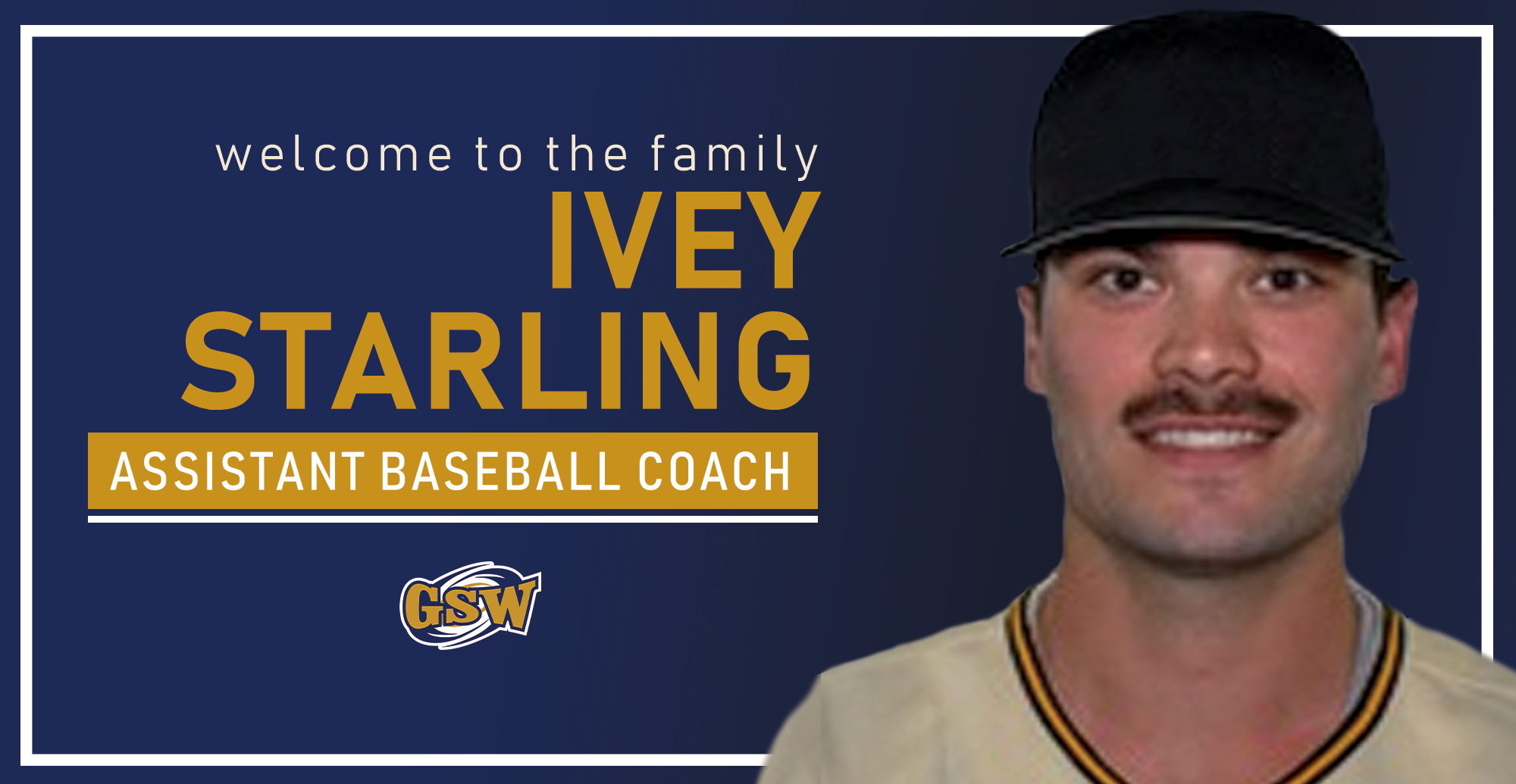 GSW Baseball Announces Starling As Assistant Coach