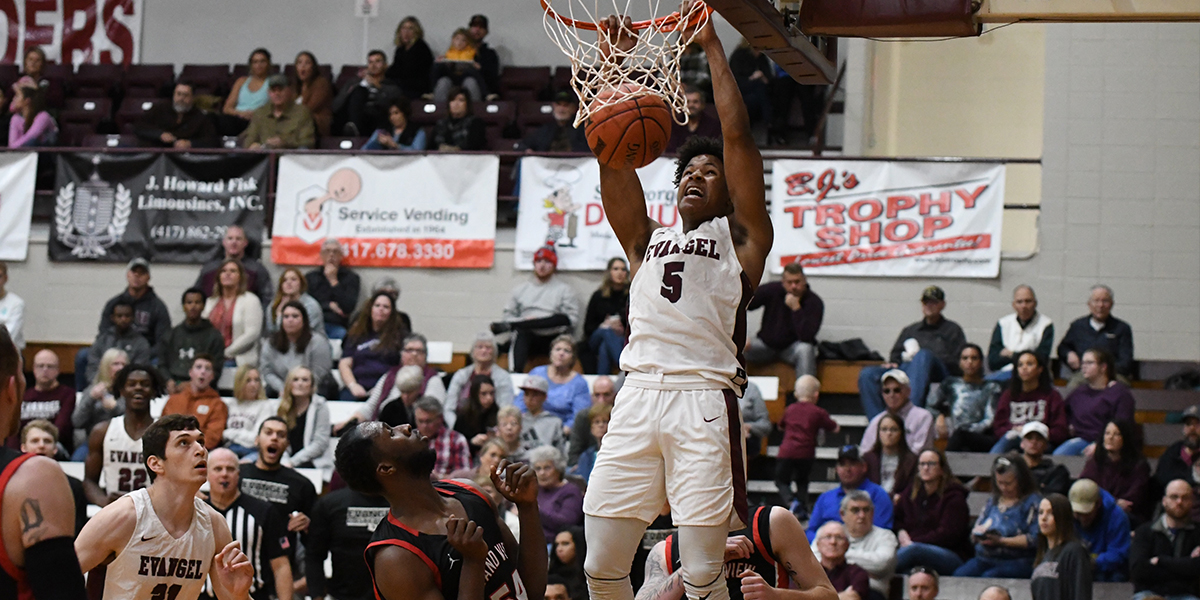 Evangel Men Outpace Grand View 85-73