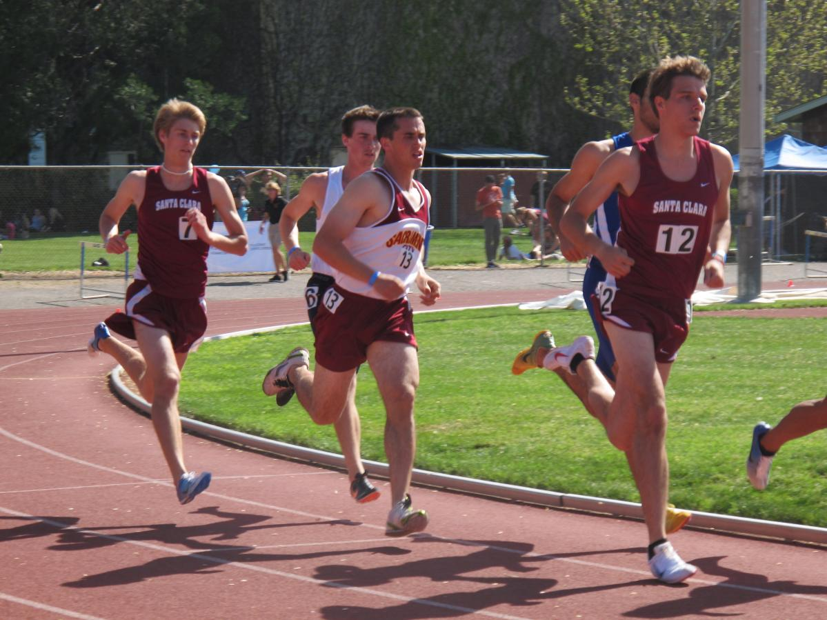 Track Pleased at MidWay Point of Outdoor Season; Prepare for Meet at Cal