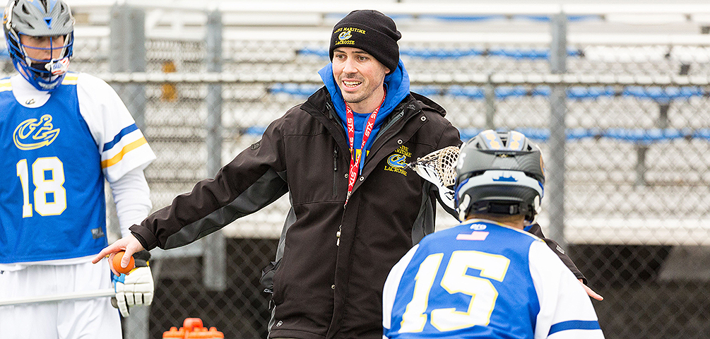 Dillon Steps Down as Head Men's Lacrosse Coach