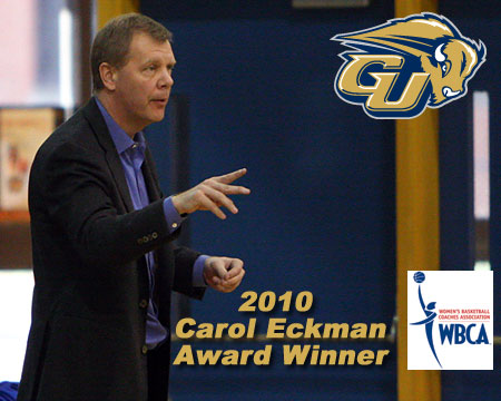 Gallaudet's Kevin Cook honored with WBCA's Carol Eckman Award