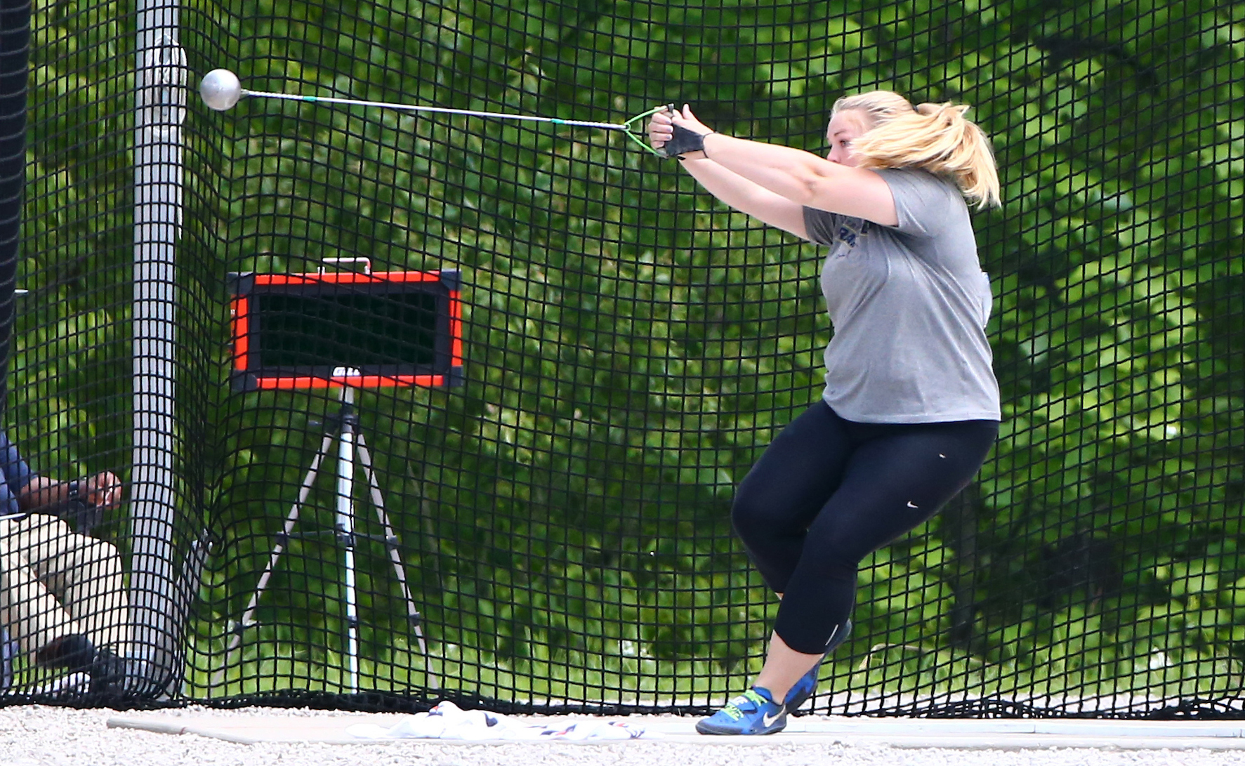 Eck Concludes Season with 18th-Place Finish in Hammer Throw