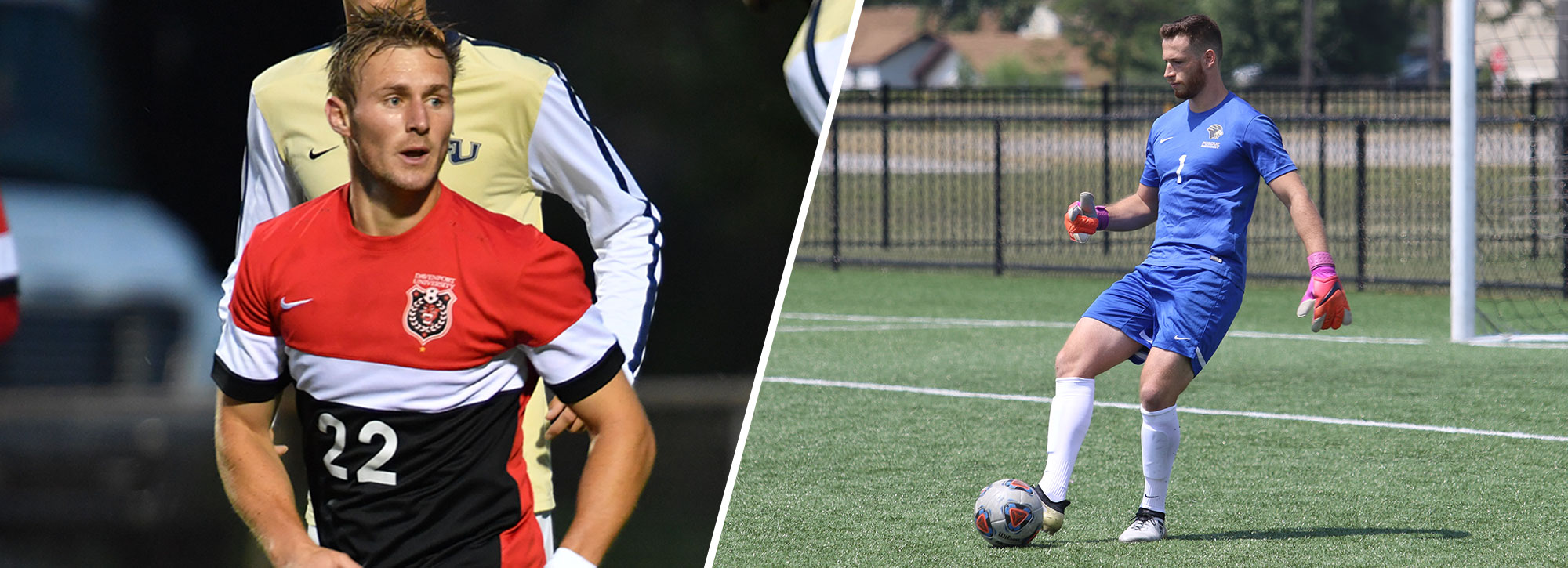 Davenport's Shrimpton, Purdue Northwest's David Collect GLIAC Men's Soccer Weekly Accolades
