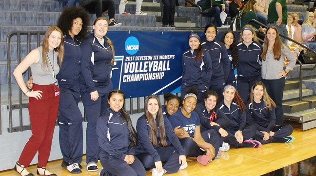 New Rochelle Women's Volleyball Ends Season at NCAA Georgetown Regional