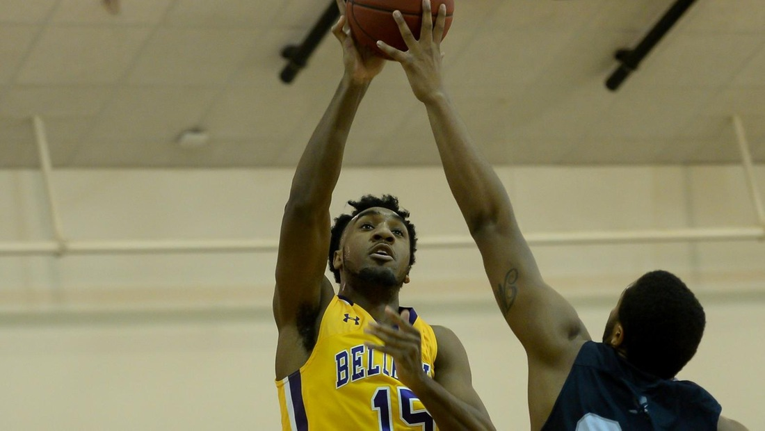 BJ Shelton led the Bruins with 19 points, eight rebounds, and three assists in the NAIA Division II Men's Basketball Game of the Week.