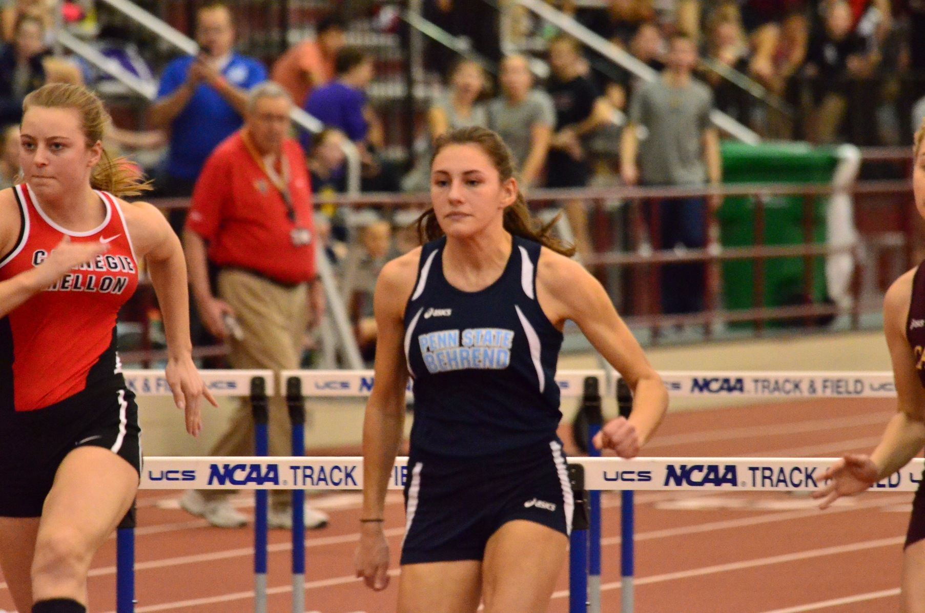Women's Track and Field Takes Second at Quad Meet