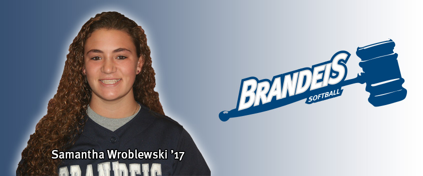 Brandeis softball falls to Case, 13-1, knocks off #18 WashU in 11 innings, 2-0