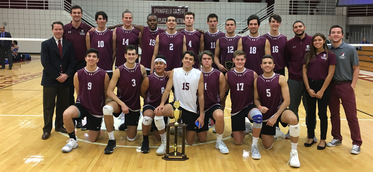 Men's Volleyball Tops New Paltz To Win International Volleyball Hall of Fame Morgan Classic