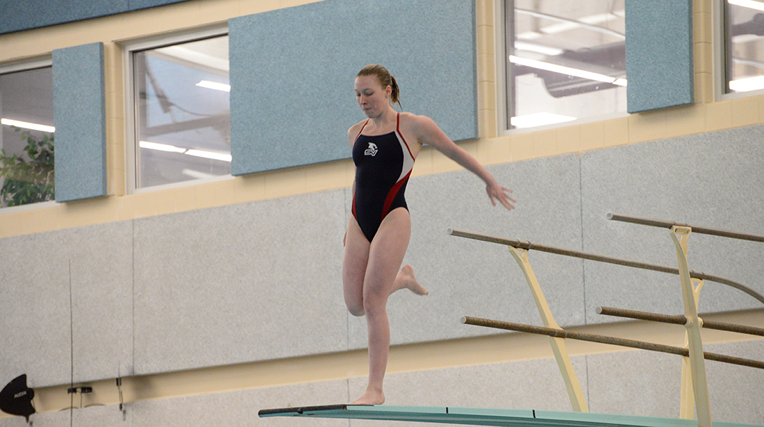 Libby Caird Competes on Day One of NCAA Championships
