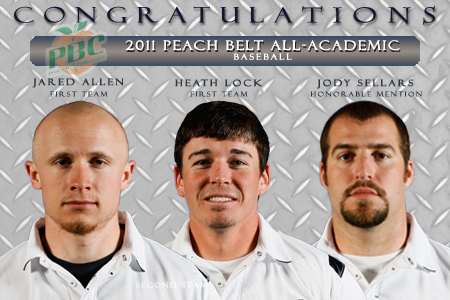 GSW baseball places three on PBC All-Academic Team
