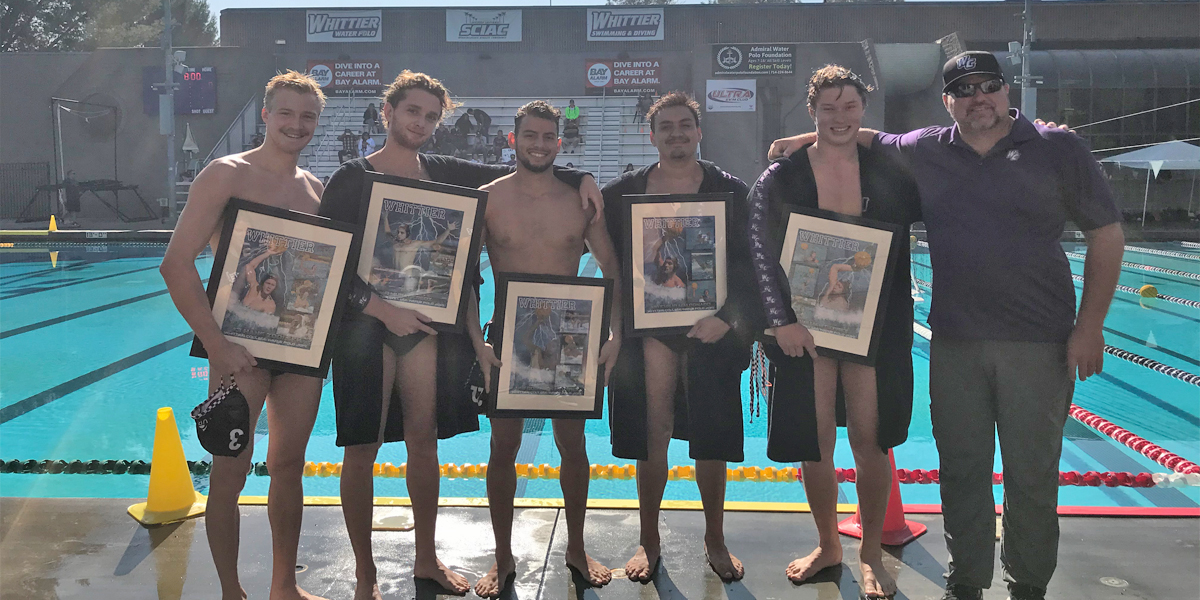 Men's Water Polo beats Occidental 13-8 on Senior Day