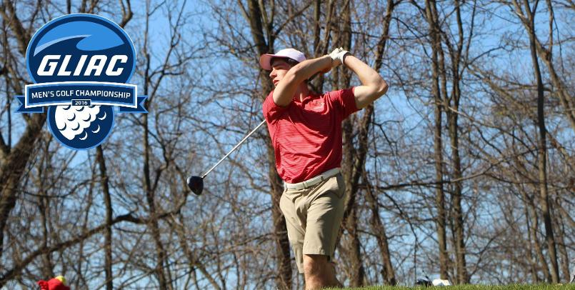 Ryan Peruski finished in 4th place in the 2016 GLIAC Men's Golf Championship...