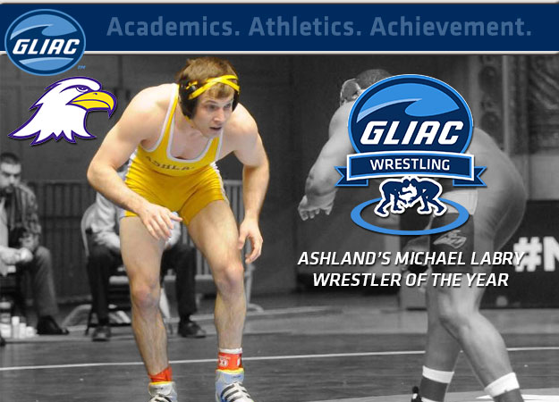 Ashland's Labry Named GLIAC Wrestler of the Year to Headline All-GLIAC Awards
