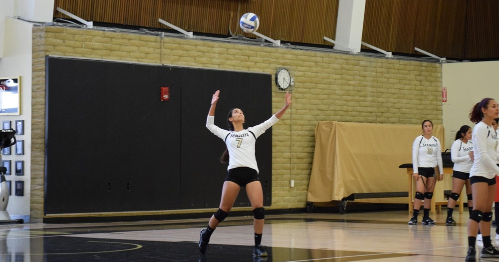 COM Volleyball Defeats Yuba 3-2 In Thrilling Home Match