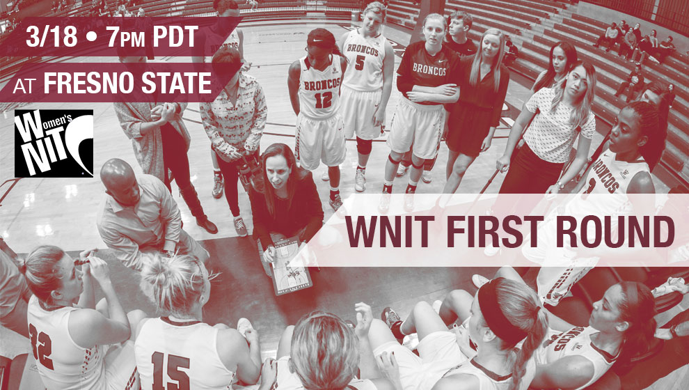 Women's Basketball Takes On Fresno State in WNIT Friday