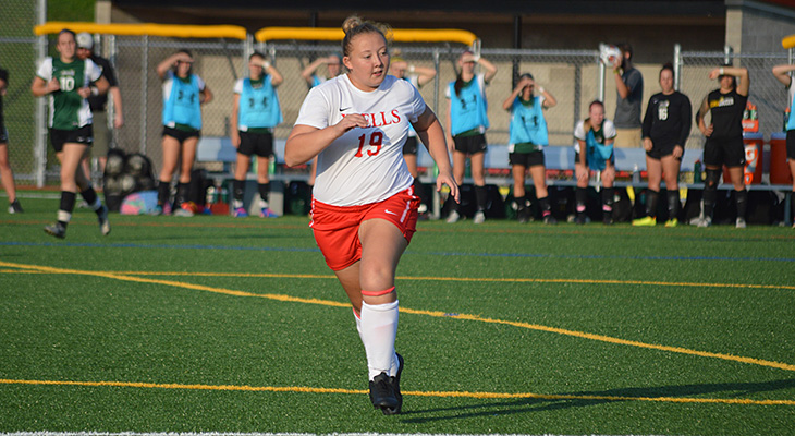 Houghton Shoots Past Wells Women's Soccer
