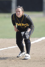 Jess Warner went 4-for-8 on Friday for UMBC