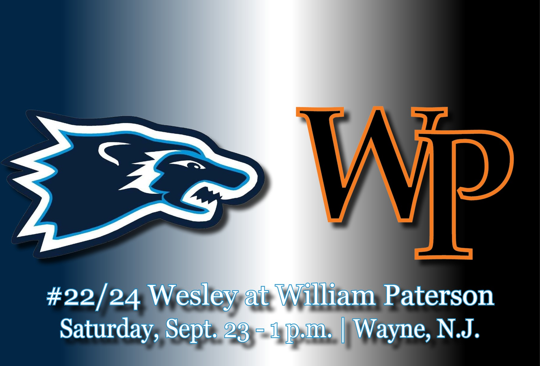 No. 22/24 Wesley Football Game Notes at William Paterson