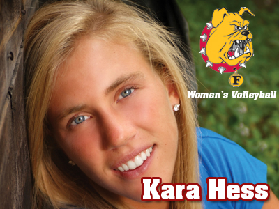 Multi-Talented Athlete Kara Hess To Play Volleyball At Ferris State