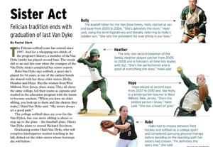 Van Dyke Sisters Appear In NCAA Champion Magazine