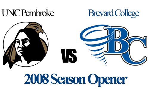 BC will open up their 2008 season with a home contest versus UNC Pembroke on Saturday, August 30.