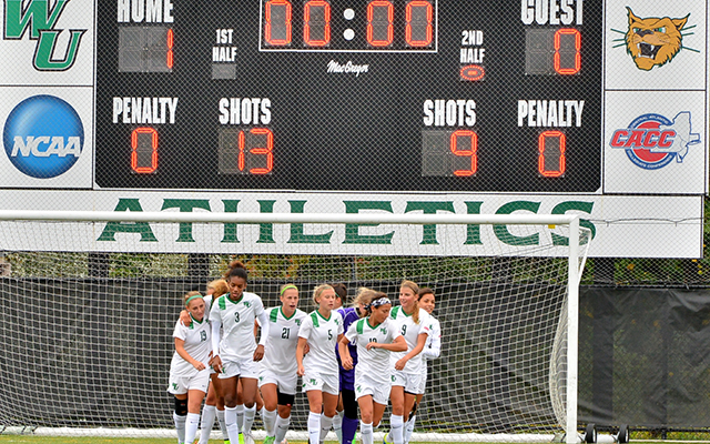 Second Half Goal Leads Wilmington Women's Soccer Past Caldwell, 1-0, on Homecoming