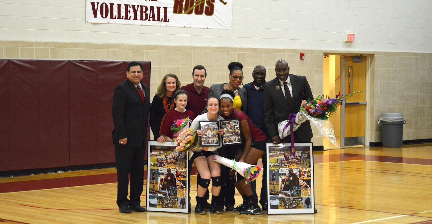 'Roo Volleyball Sweeps DCC and SAGU on Senior Night