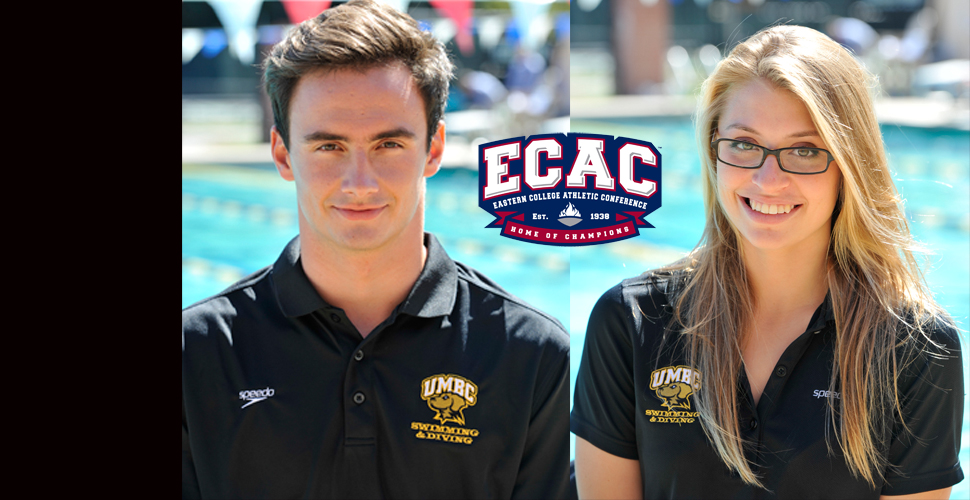 Gutzat, Darelius Garner ECAC Rookie and Diver of the Week Honors