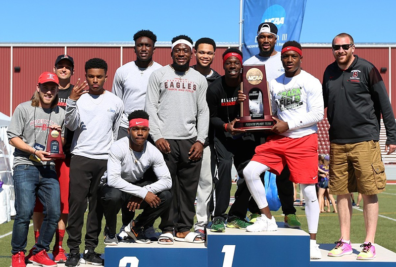 Benedictine University, NCAA Outdoor 4th Place Team