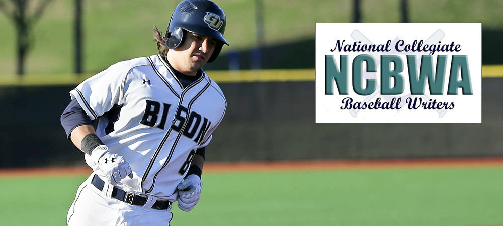 Gallaudet's Casey Hicks named NCBWA Division III National Hitter of the Week