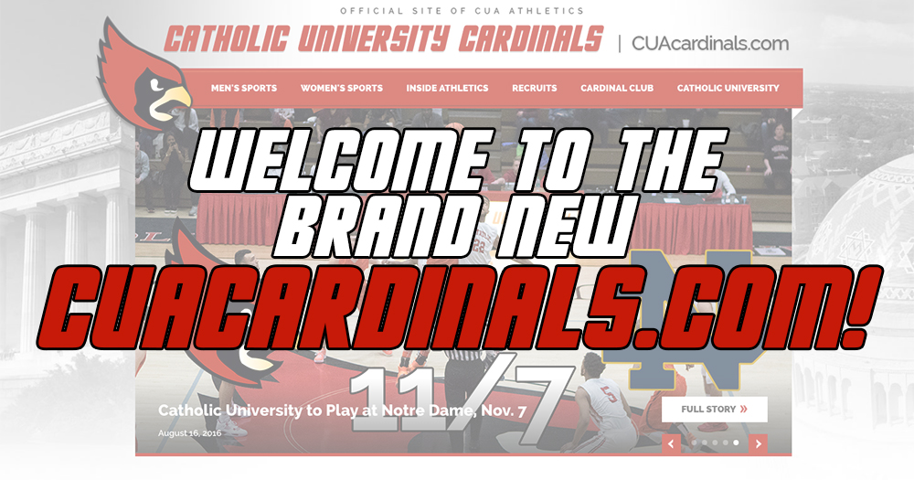 The Brand New CUAcardinals.com Launches on Thursday