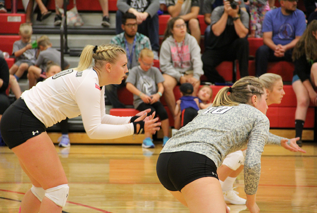 LRSC volleyball drops two but rapidly improving