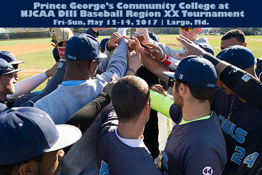 Prince George's Baseball Begins Quest For Fourth NJCAA Division III Region XX Tournament Title On Sunday