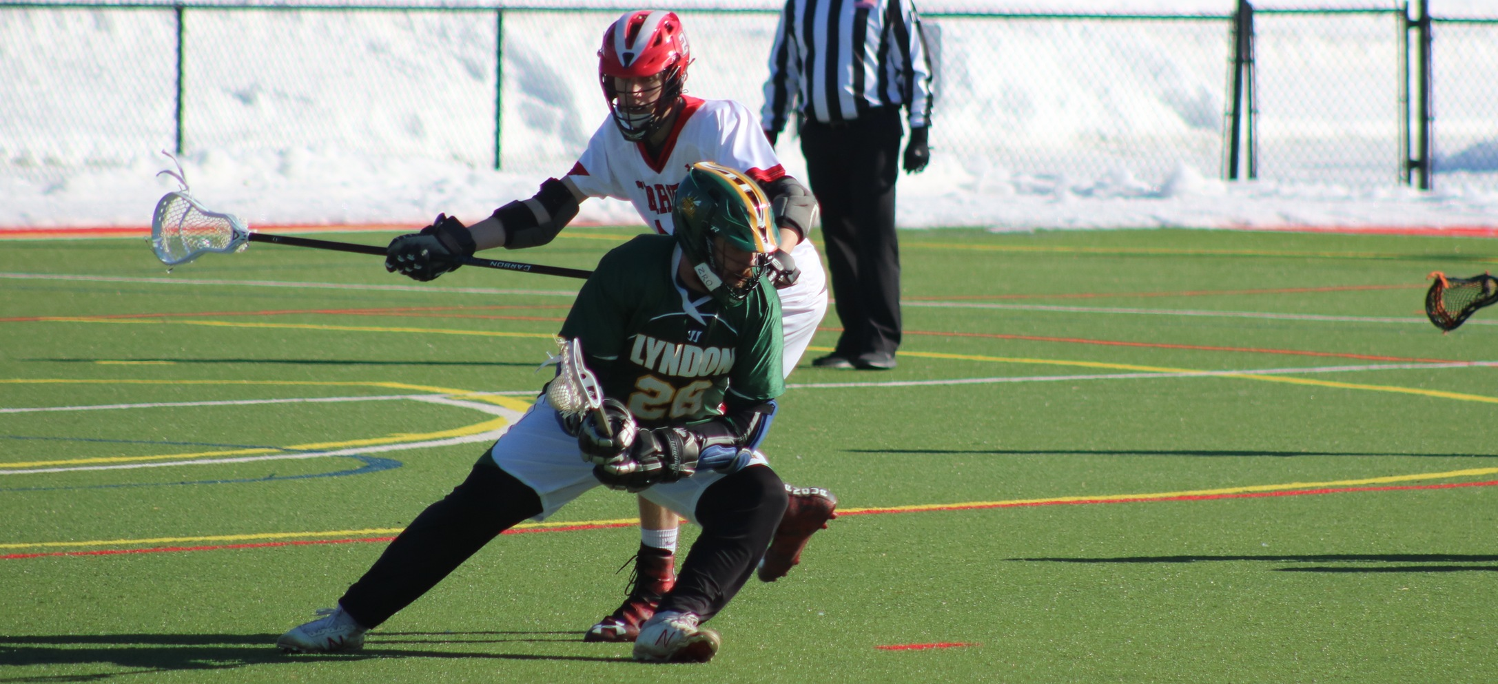 Hornet men's lacrosse falls to Southern Maine in non-conference matchup