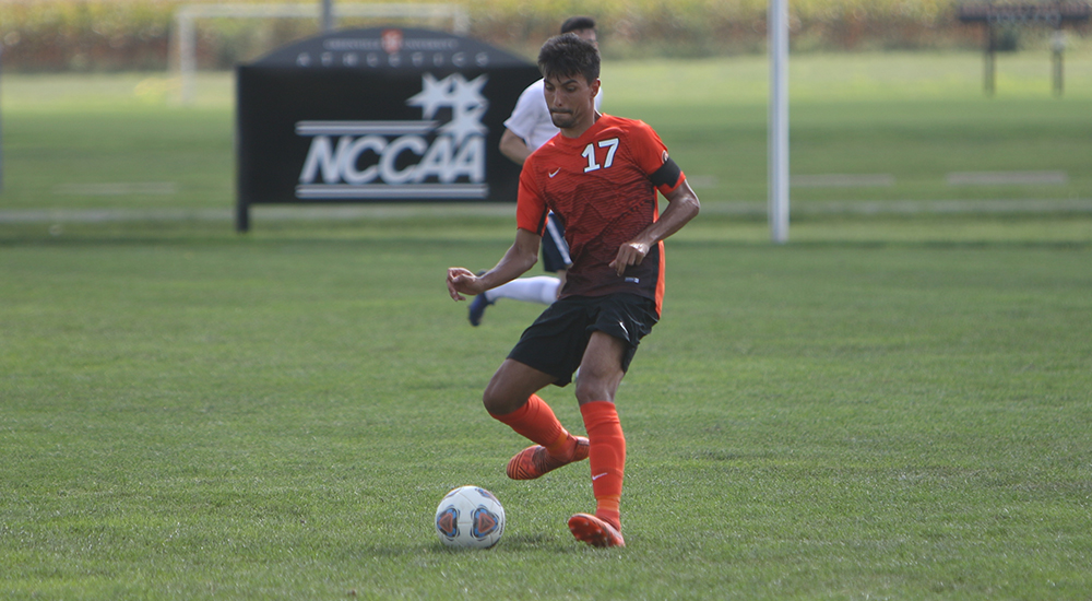 Men's soccer manages 2-1 win over Maranatha Baptist