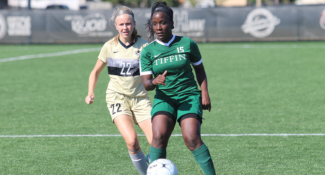 Markella Suka collected her third goal of the season on Friday, giving Tiffin a 2-1 win over Northwood University.