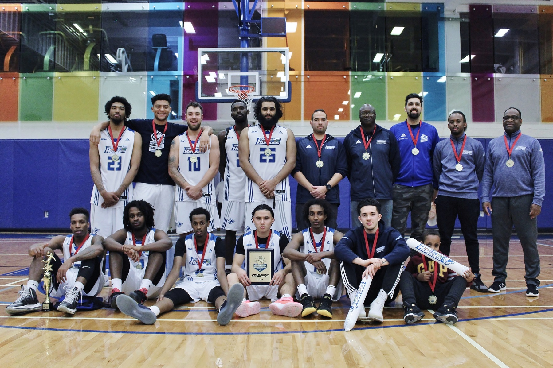 GEORGE BROWN COLLEGE WINS 41ST ANNUAL HUSKIES MEN'S BASKETBALL TOURNAMENT