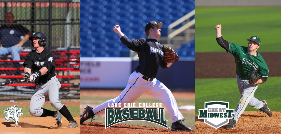 Three Baseball Players Named All-Conference